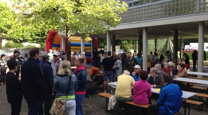 Grosses Quartierfest am 15. August