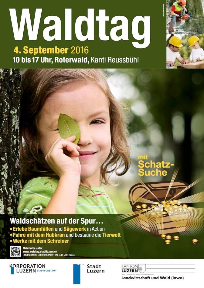 Waldtag im Rothenwald