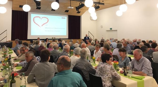9. Mitgliederversammlung des QV Reussbühl