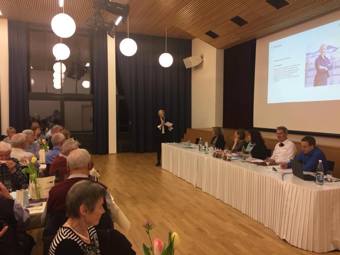 10. Mitgliederversammlung des Quartiervereins Reussbühl