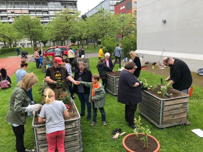Quartiergarten Ruopigen eröffnet