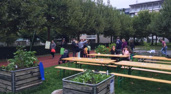 Erntedankfest Quartiergarten