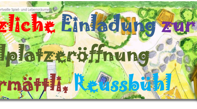 Eröffnung Spielplatz Obermättli