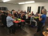 QV Integration 1. Abendtisch Injera aus Eritrea Pfadiheim Reussbühl