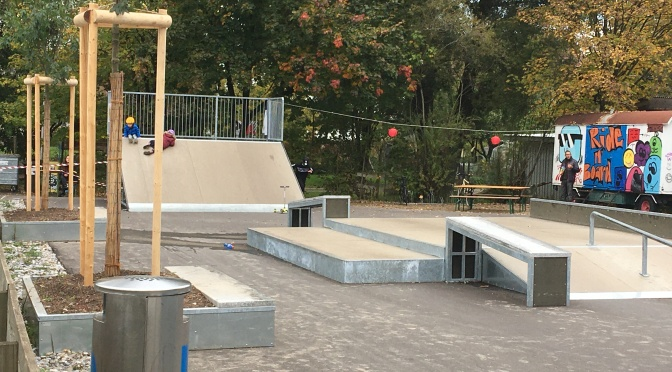Eröffnung Skaterpark