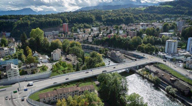 Keine Spange Nord, Reussportbrücke sistiert